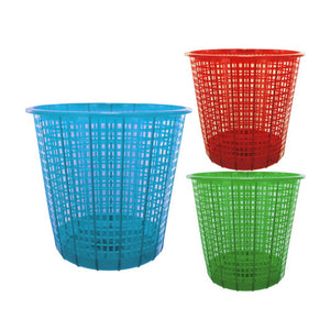 Kole Imports Home Indoor Household Accessories Seasonal Gifts Plastic Mesh Trash Can 18 Pack