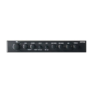 Equalizer/Crossover Hifonics 1/2 Din; 4Band Eq; 2-Way Xover