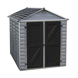 Palram SkyLight 6' x 8' Storage Shed - Gray