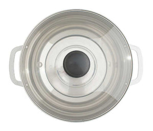 SPT HK-4200B 3.5L Stainless Steel Pot with Glass Lid