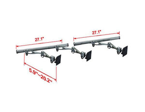 Cotytech Double Arm Wall Mount for Three Monitors (HMW-31A2)