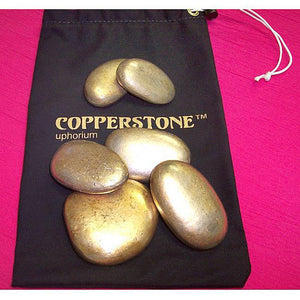 Pure Island Copperstone Home Massage 6 Pack Set