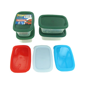 Rectangle Storage Containers - Pack of 24