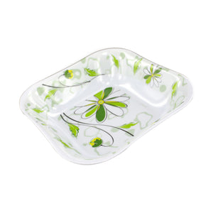 Square Bowl With Spring Floral Design - Pack of 30