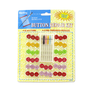 Button Repair Kit - Pack of 24