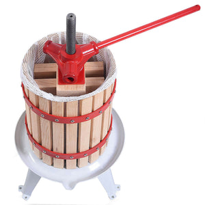 1.6 Gallon Fruit Wine Press Cider Juice Maker Tool