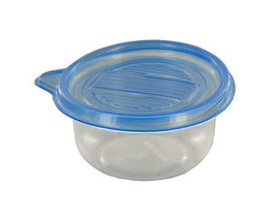 Small Round Food Storage Container Set - Pack of 12