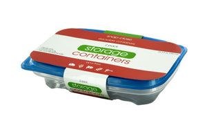 Rectangular Food Storage Container Set - Pack of 12