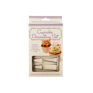 Bulk Buys Starter Kit Cupcake Decorating Set 6 Pack