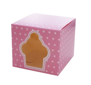 Bulk Buys Household Dinning Tool Window Cupcake Boxes - 24 Pack