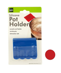 Bulk Buys Household Kitchen Tool Silicone Pot Holder Countertop Display - Case Of 24