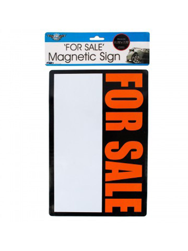 magnetic 'for sale' sign - 24 Pack