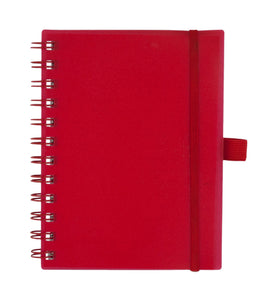Bulk Buys Red Organizer Notebook with Pockets - Pack of 20