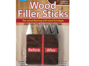 Furniture Repair Wood Filler Sticks Set, Pack of 36