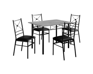 Monarch Specialties DINING SET One Size GREY