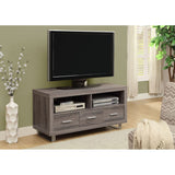 Monarch Reclaimed-Look TV Console with 3 Drawers, 48-Inch, Dark Taupe