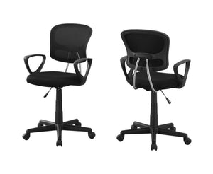 Office Chair Black Mesh Juvenile - Multi-Position