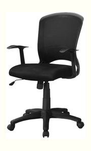 Office Chair Black Mesh Mid-Back - Multi-Position