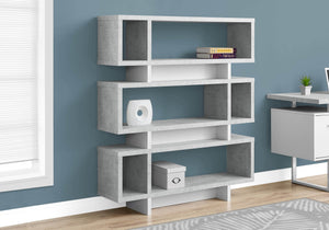 Monarch Specialties I Bookcase, Grey