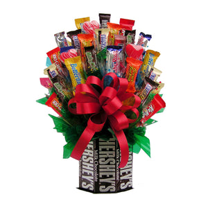 IAMG013M Hersheys and More Candy Bouquet - Medium