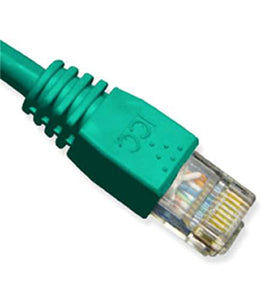 ICC Computer Ethernet Networking PatchCord 5' Cat6 - Green