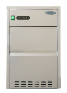 SPT IM-1110C 110 lbs Automatic Stainless Steel Ice Maker