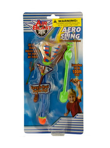 Aero Sling Rubber Band Spinner Toy - Pack of 24