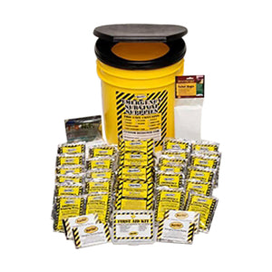 Mayday Emergency Survival 3 Person Economy Emergency Honey Bucket Kits
