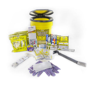 Mayday Emergency Survival 2 Person Deluxe Emergency Honey Bucket Kits