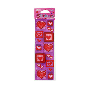 Kole imports Stickers Hearts One Sheet 24 Pack