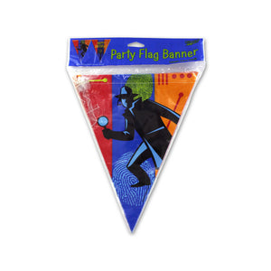 Kole imports Party Flag Banner 12 ft 24 Pack