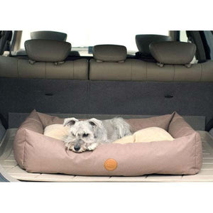 Pet Stores KandH Pet Products Travel / SUV Bed Large Tan 30