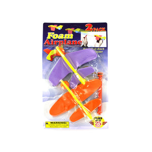 Kole imports Foam Airplanes Set 12 Pack