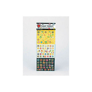 Kole imports Assorted Glitter Stickers (Assorted Designs) 24 Pack