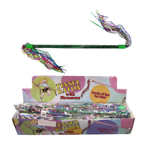 Tinsel Baton With Streamers - Case of 24