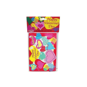 Happy Valentine 8 Pack Invitations/Envelopes - Pack of 24