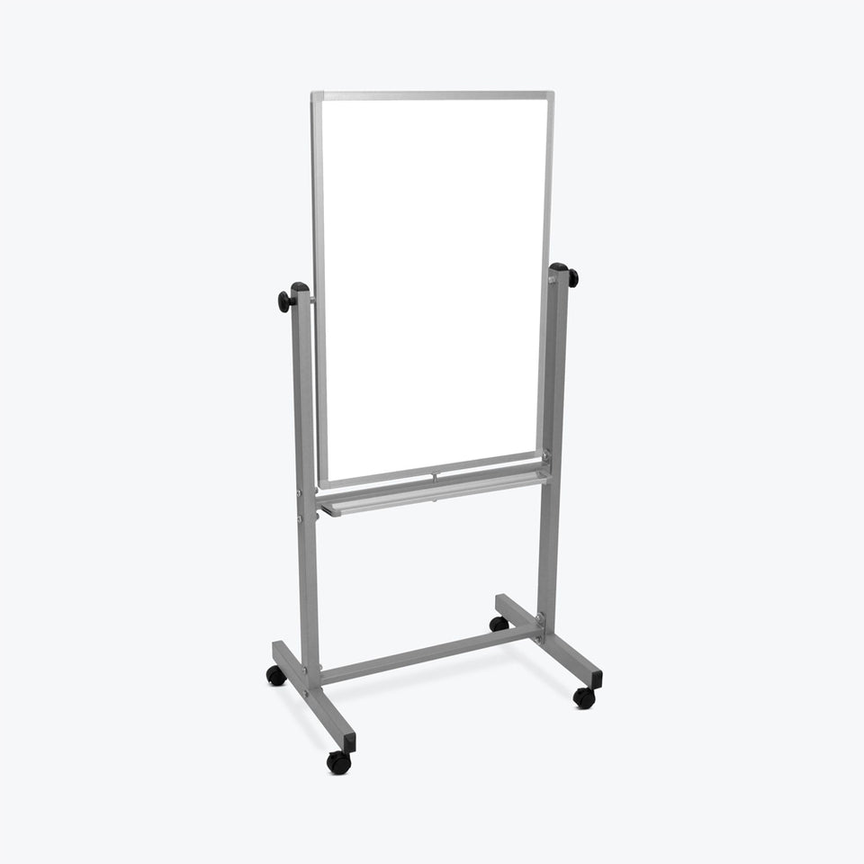 "Luxor 24""W x 36""H Double-Sided Magnetic Whiteboard"