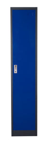 1-Door Metal Storage Locker Cabinet with Key Lock Entry