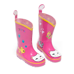 Kidorable Lucky Cat Rain Boots Size 5(My 1st)