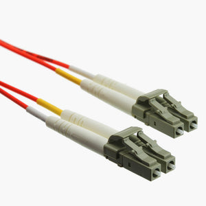 Fiber Optic Cable, LC / LC, Multimode, Duplex, 50/125, 4 meter (13.1 foot)