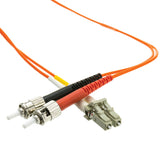 Fiber Optic Cable, LC / ST, Multimode, Duplex, 62.5/125, 7 meter (22.9 foot)