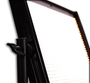 MicroBeam 1024 : High Powered LED Video Light with V-Mount Battery Plate, Tungsten (3200K), Flood (60 Degrees)