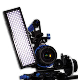 Microbeam 256: Sony NP Battery Mount, Daylight (5600K), Spot (30 Degrees), Black Chassis
