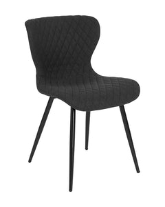 Bristol Contemporary Upholstered Chair in Fabric
