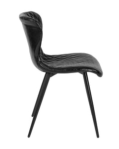 Bristol Contemporary Upholstered Chair in Vinyl