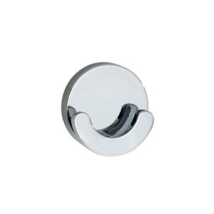 Smedbo SME, Polished Chrome LK356 Towel Hook Double, 5.5 x 2.2 x 5.5 cm