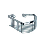 Smedbo SME, Polished Chrome LK374 Corner Soap Basket