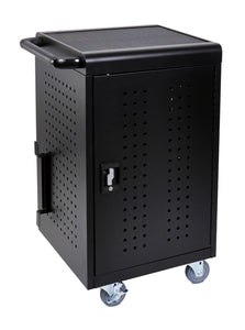 Luxor 30 Tablet Charging Cart - Black