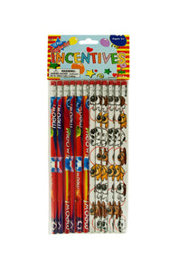 Cats Dogs Party Favor Pencils - 24 Pack