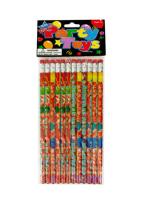 Happy Birthday Party Favor Pencils - Pack of 24